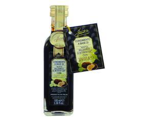 Aceto Balsamico Con Tartufo - Con Succo E Pezzi - Astuccio 03046 Inaudi 100 Ml