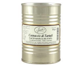 Carpaccio Fette Di Tartufi Neri (tuber Aestivum) In Ol.oliva 05092 Inaudi 380 Grammi