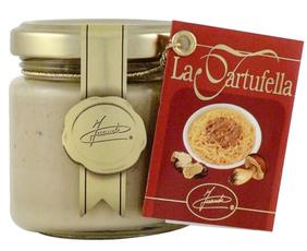 Tartufella - Salsa Pronta Al Tartufo Bianco 12100 Inaudi 80 Grammi
