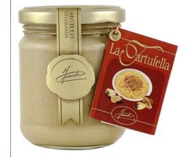Tartufella - Salsa Pronta Al Tartufo Bianco 12120 Inaudi 180 Grammi