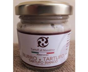 Burro Con Tartufi Bianchi 5% (tuber Magnatum Pico) Dogliani Btb080 80 Grammi