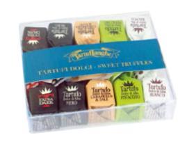 Mini Tartufi Dolci D'alba - Misti (nuovo) (bianco/nero/caramello E Sale/extra Dark/pistacchio - 2 Pz Per Gusto) Tl11as010 Tartuflanghe 70 Grammi