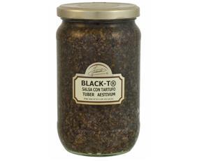 Black-t® Salsa Con Tartufo 00684 Inaudi 650 Grammi