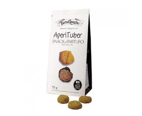 Aperituber: Snack Salato Con Tartufo Tl08ap001 (tuber Aestivum Vitt.) Tartuflanghe  70 Grammi