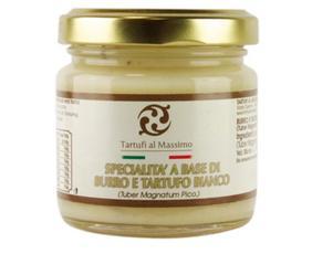Burro Con Tartufi Bianchi (tuber Magnatum Pico) Dogliani Btb075 75 Grammi