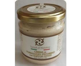 Crema Di Formaggio Pecorino E Tartufo Estivo (tuber Aestivum Vitt.) Dogliani Fta180 180 Grammi