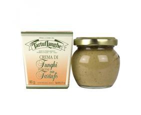 Crema Di Funghi Porcini E Tartufo (tuber Aestivum Vitt. E Tuber Albidum) Tl02co004 Tartuflanghe 90 Grammi