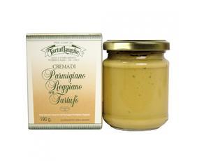 Crema Di Parmigiano Reggiano Dop Con Tartufo Tl02su001 Tartuflanghe 190 Grammi
