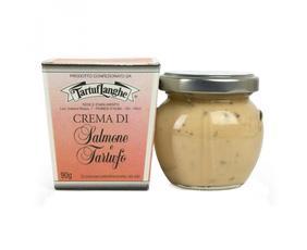 Crema Di Salmone Con Tartufo Tl02an004 Tartuflanghe 90 Grammi