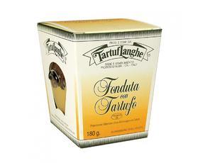 Fonduta Di Fontina Dop Con Tartufo Pronta Tl02su003 Tartuflanghe 180 Grammi
