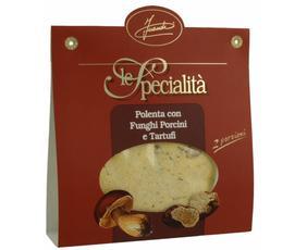 Polenta Con Funghi Porcini E Tartufi 12007 Inaudi 150 Grammi