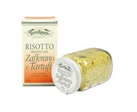 Risotto Pronto Con Zafferano E Tartufo (tuber Aestivum Vitt.) Tl06ri002 Tartuflanghe 240 Grammi