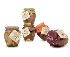Salamini Al Tartufo In Olio Di Oliva (small Hard Salami With Truffle In Olive Oil) T052 Granda Tradizioni 280 Grammi