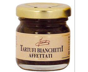 Tartufi Bianchetti Affettati Sott'olio (tuber Albidum) 05020 Inaudi 30 Grammi